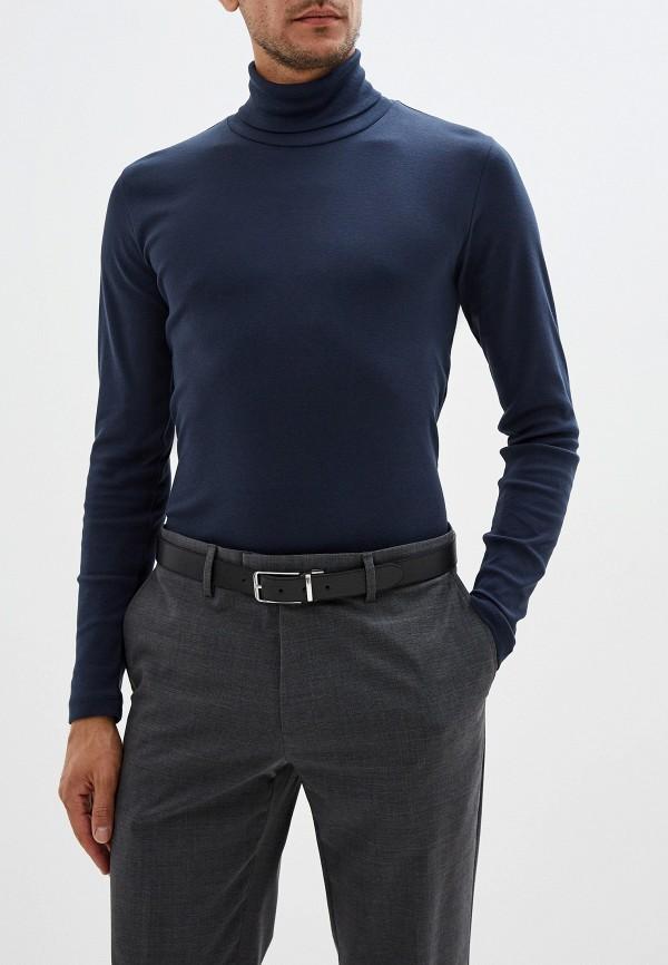 мужская водолазка marc o'polo, синяя