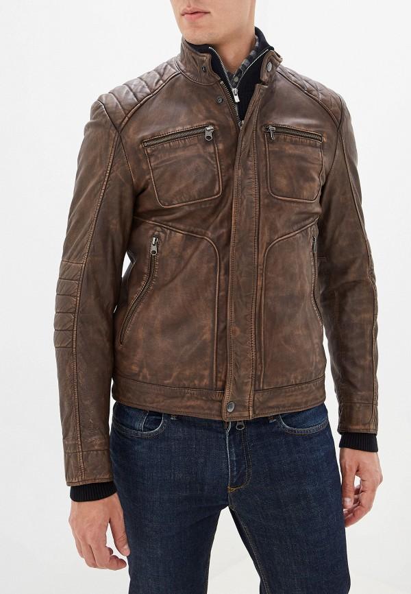 мужская куртка marc o'polo, коричневая