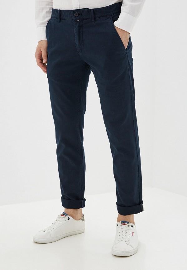 мужские повседневные брюки marc o'polo, синие