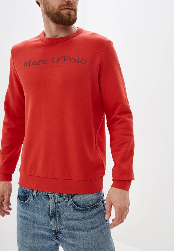 мужской свитшот marc o'polo, красный
