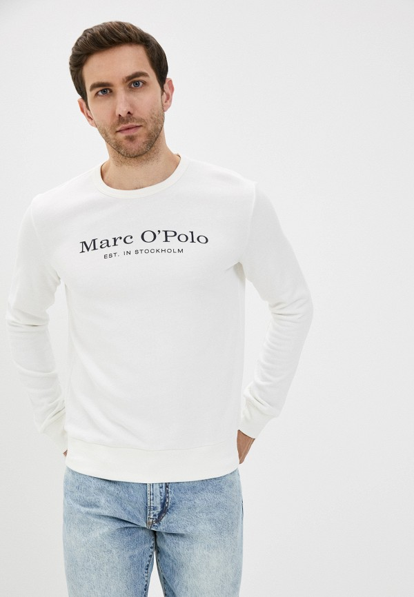 мужской свитшот marc o'polo, белый