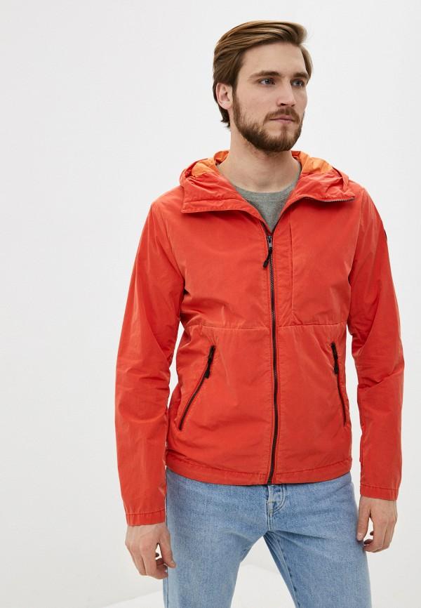 мужская ветровка marc o'polo, оранжевая