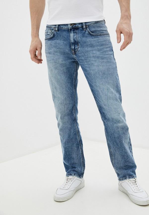 мужские прямые джинсы marc o'polo, голубые