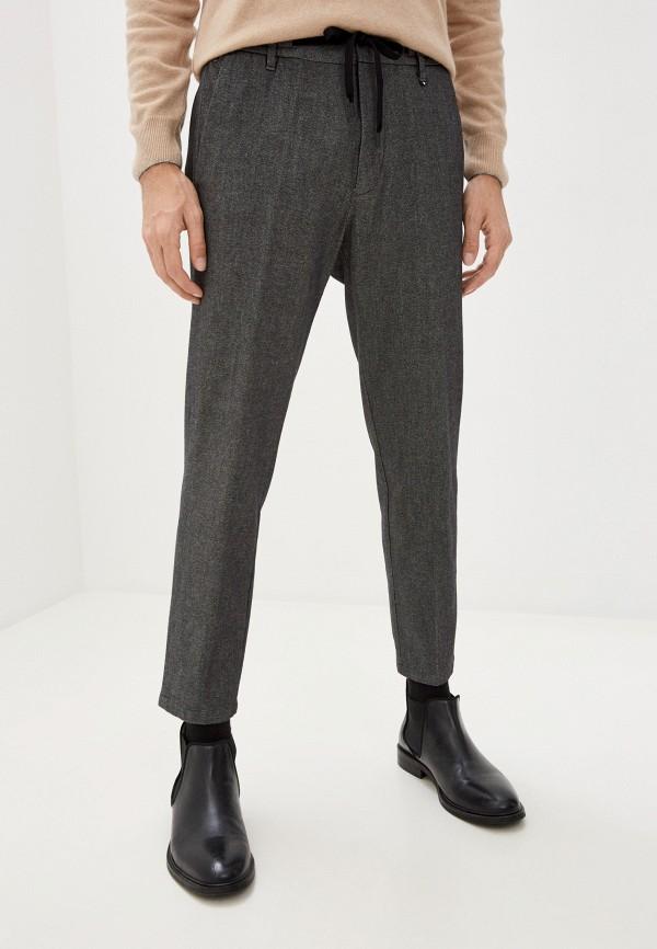 мужские повседневные брюки marc o'polo, серые