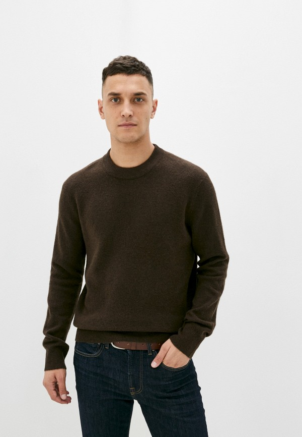 мужской джемпер marc o'polo, коричневый