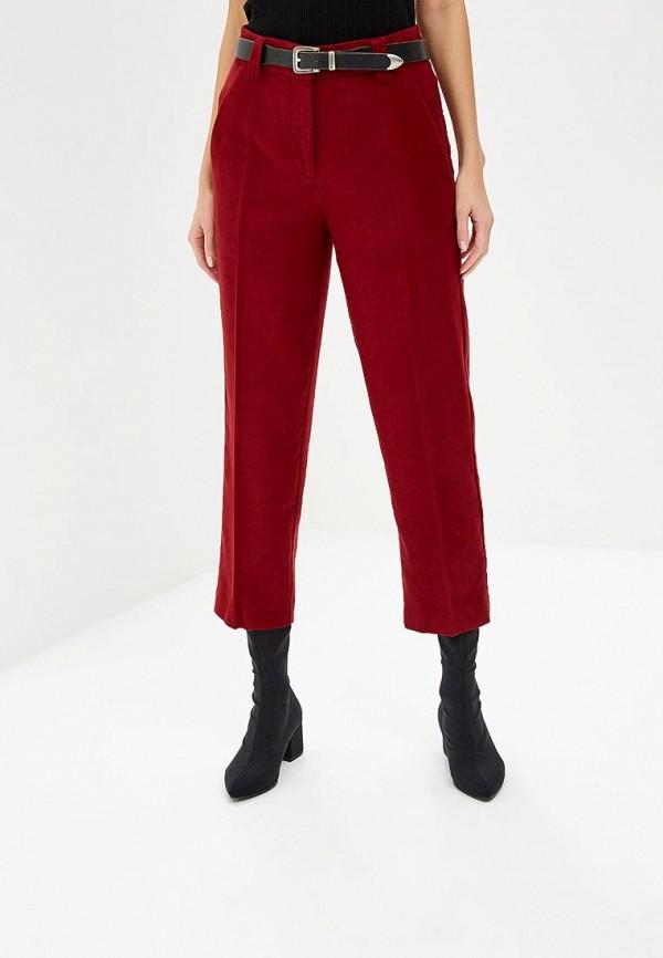 женские повседневные брюки marc o'polo, бордовые