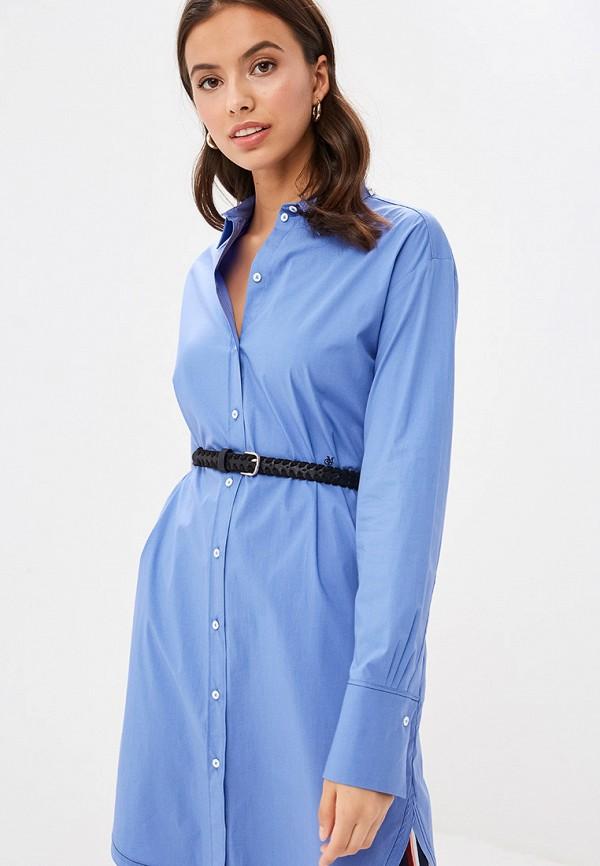 женское платье marc o'polo, синее