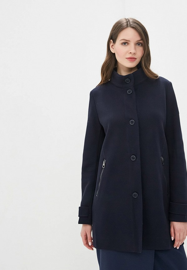 женское пальто marc o'polo, синее