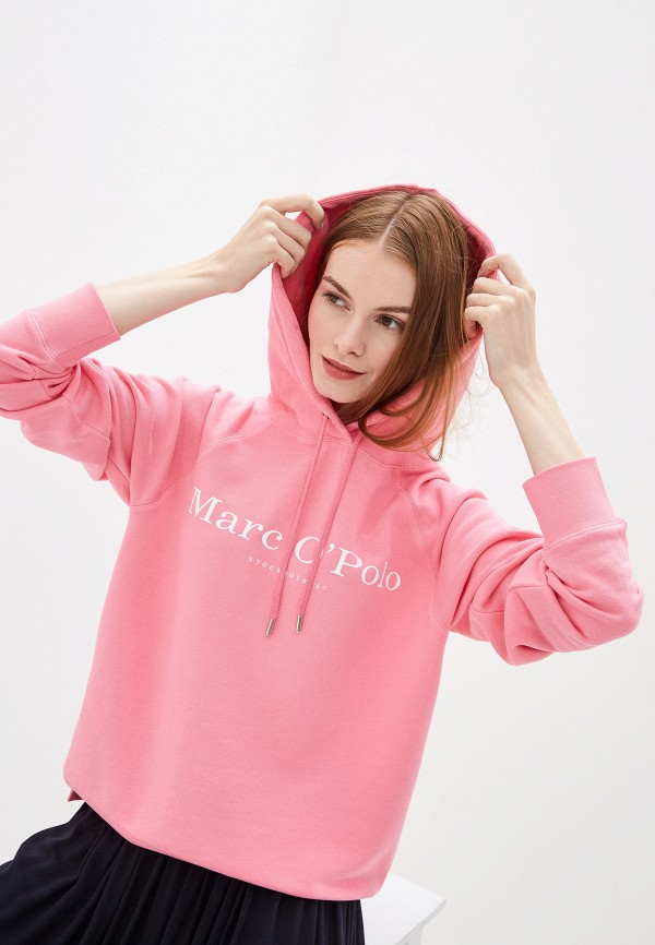 женские худи marc o'polo, розовые