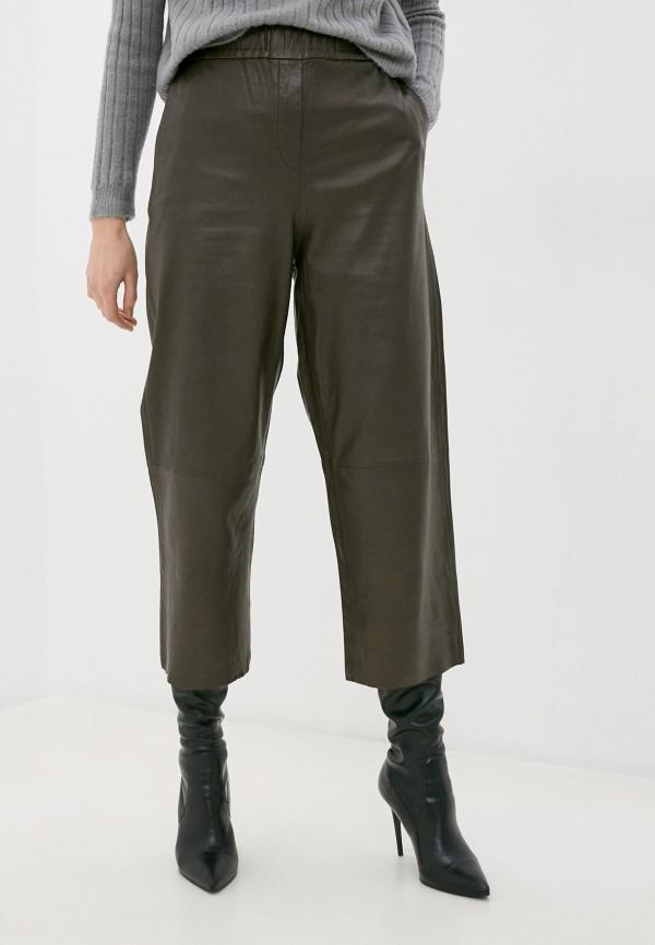 женские брюки marc o'polo, коричневые