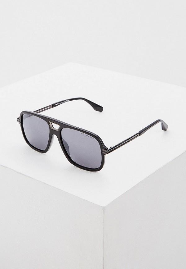 мужские квадратные солнцезащитные очки marc jacobs, черные