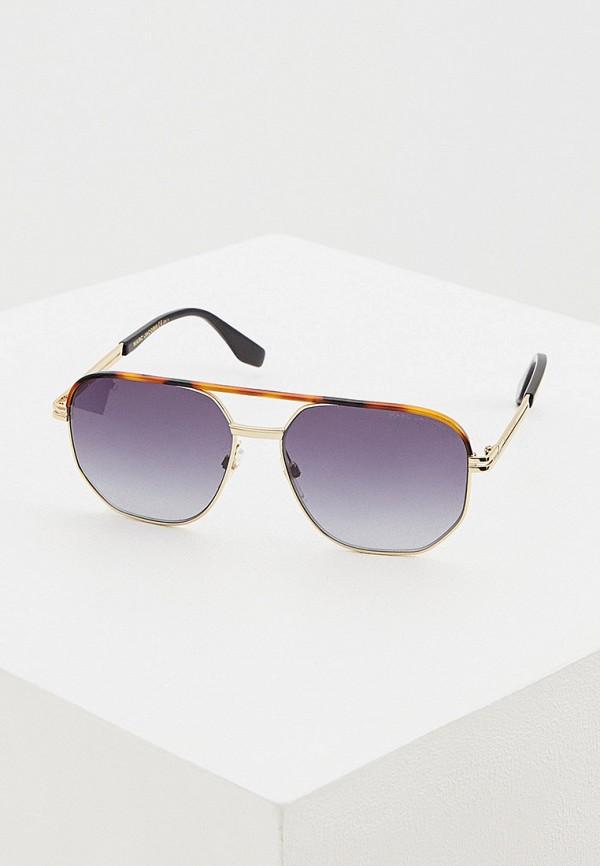 мужские солнцезащитные очки marc jacobs, золотые