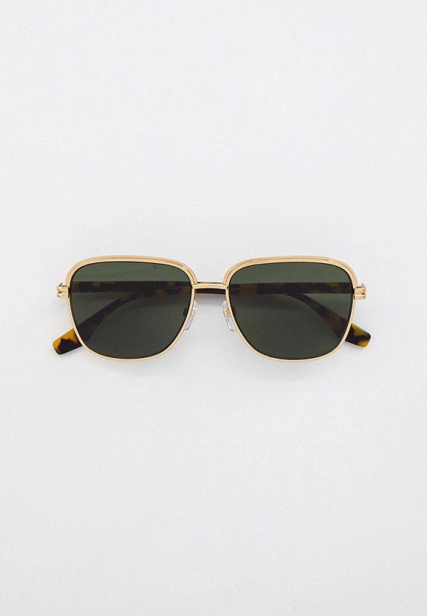 мужские квадратные солнцезащитные очки marc jacobs, золотые