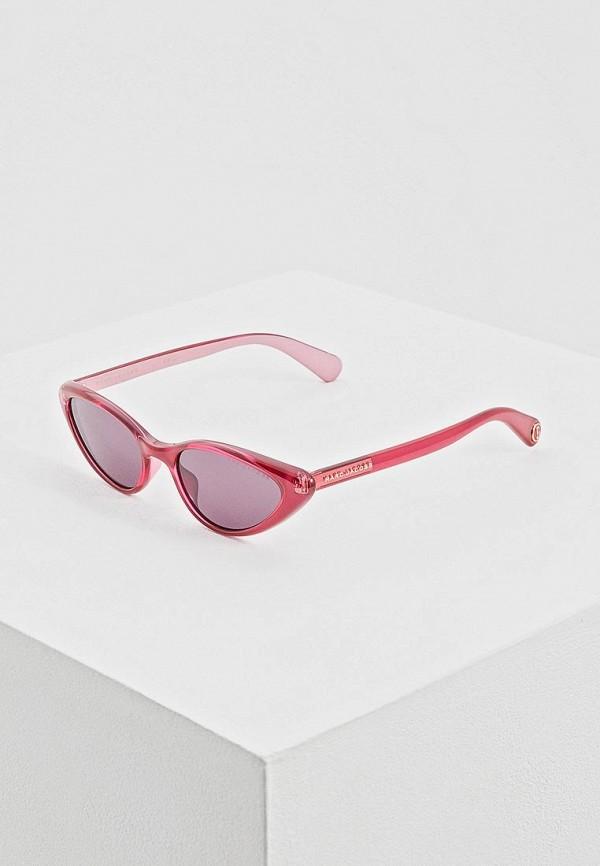 женские солнцезащитные очки marc jacobs, розовые