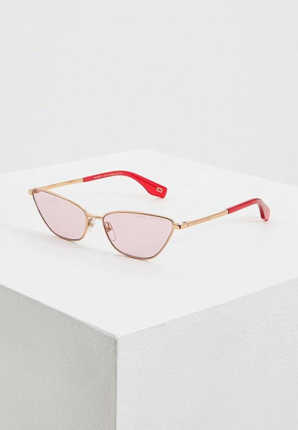 женские солнцезащитные очки marc jacobs, красные