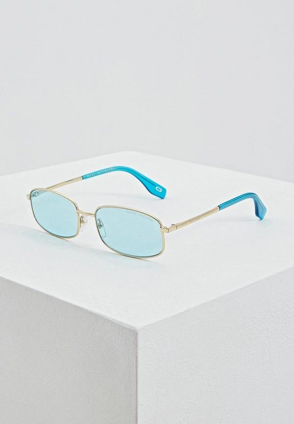женские солнцезащитные очки marc jacobs, голубые