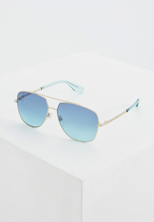 Фото - Очки солнцезащитные Marc Jacobs серого цвета