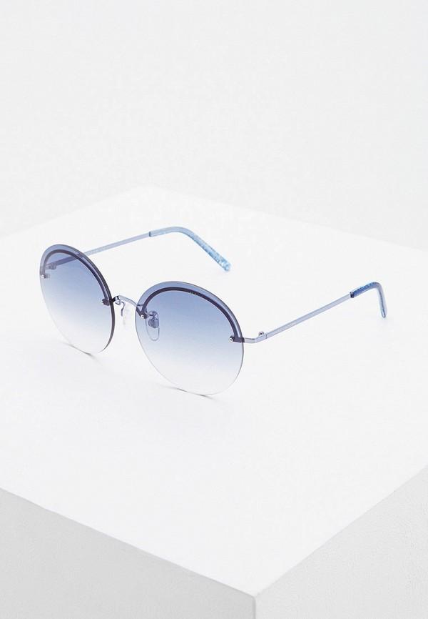 женские солнцезащитные очки marc jacobs, синие
