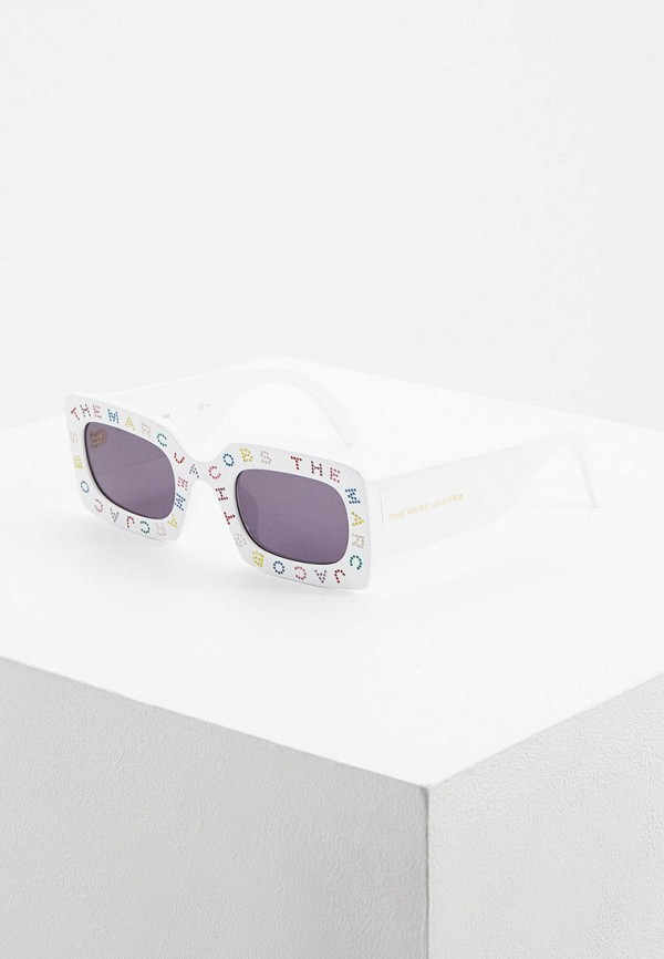 женские солнцезащитные очки marc jacobs, белые