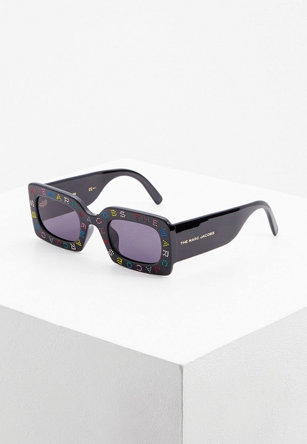 женские солнцезащитные очки marc jacobs, черные