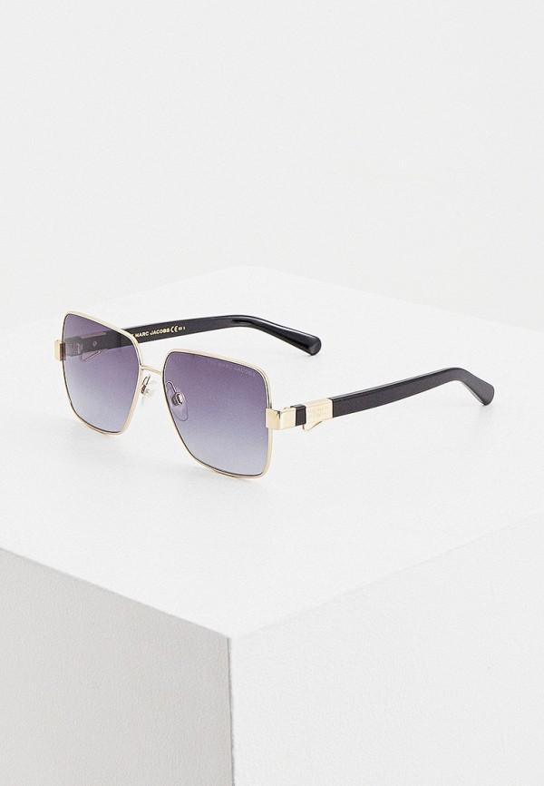 женские солнцезащитные очки marc jacobs, золотые