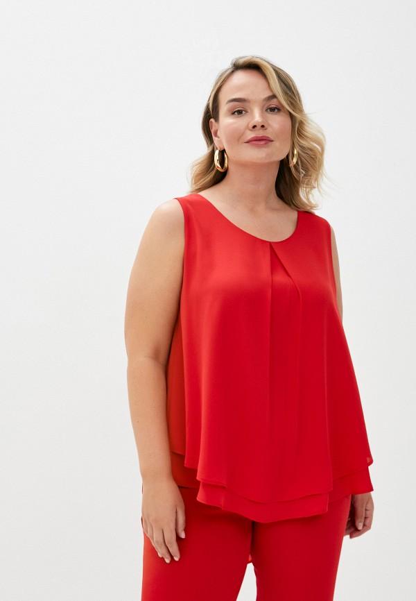 женский топ maqueda, красный