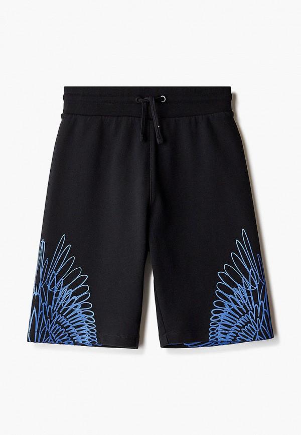 спортивные шорты marcelo burlon kids of milan для мальчика, черные