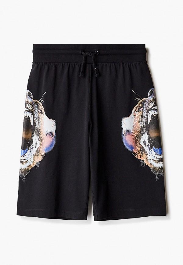 шорты marcelo burlon kids of milan для мальчика, черные