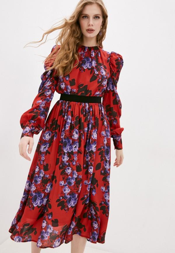 женское повседневные платье marco bologna, красное