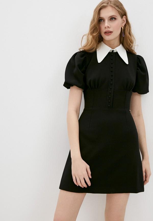 женское повседневные платье marco bologna, черное