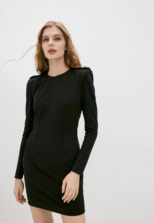 женское вечерние платье marco bologna, черное