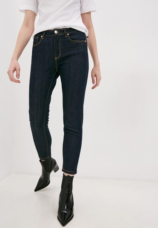 женские прямые джинсы marco bologna, синие