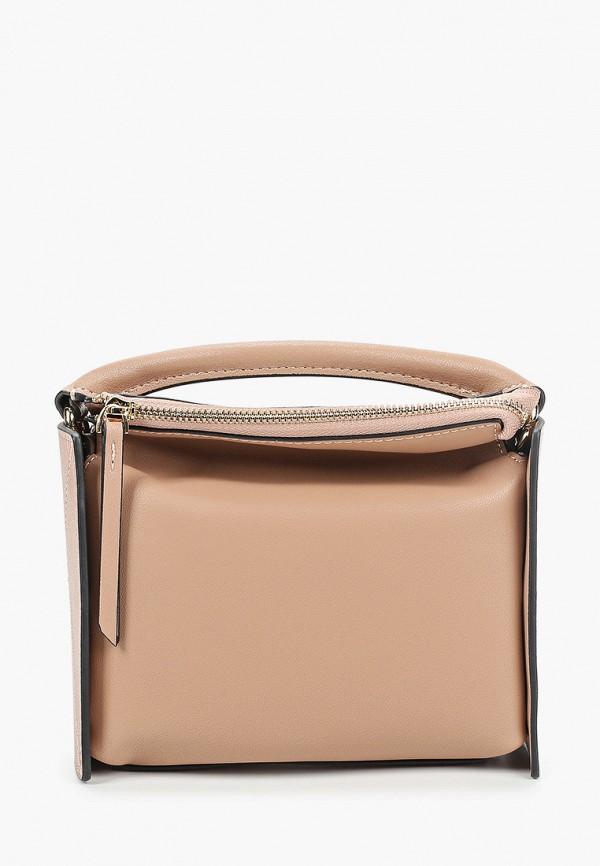 женская сумка mallanee, бежевая