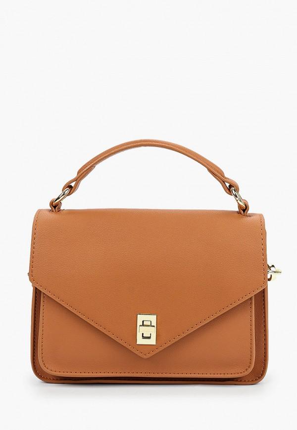 женская сумка mallanee, коричневая