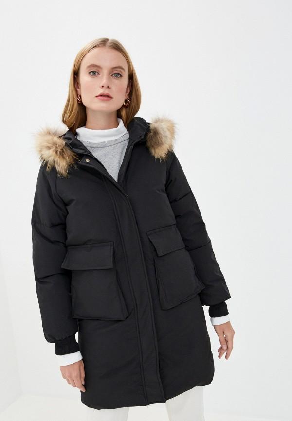 женская куртка mallanee, черная
