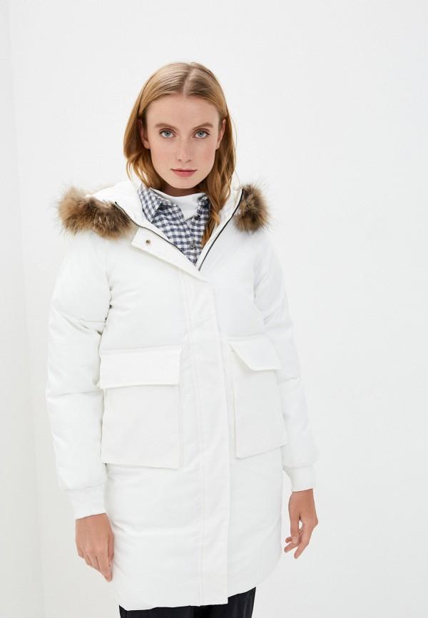 женская куртка mallanee, белая