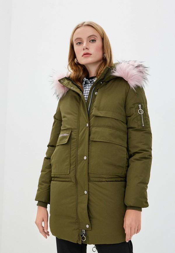 женская куртка mallanee, хаки