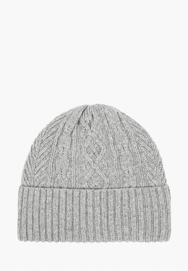шапка maxval для мальчика, серая