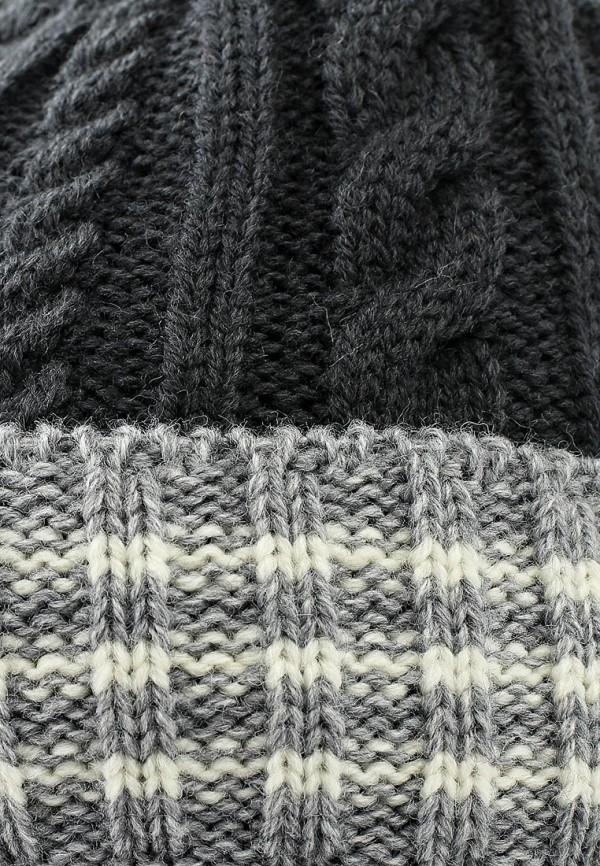 Фото 16 - Шапку Maxval серого цвета