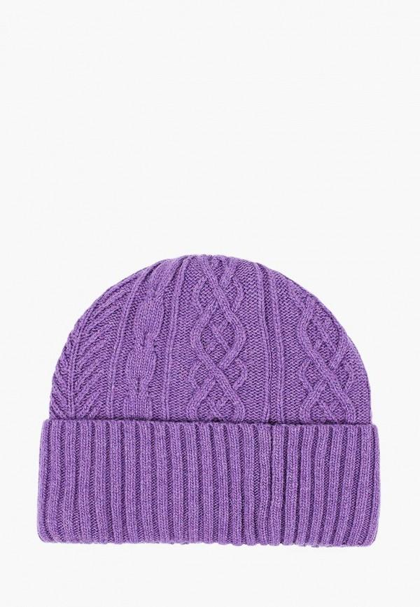 шапка maxval для девочки, фиолетовая