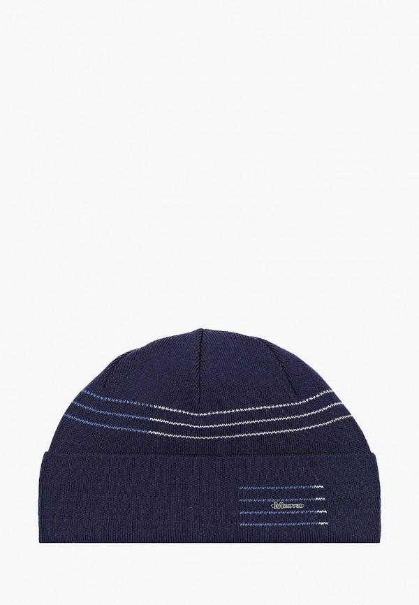 мужская шапка maxval, синяя