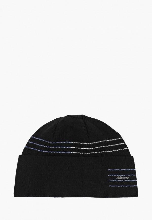 мужская шапка maxval, черная