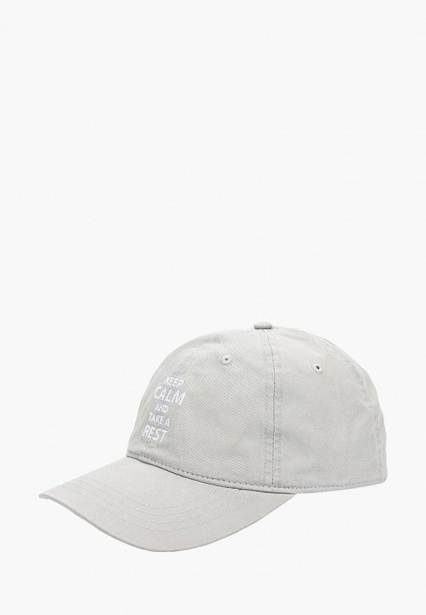 Купить Бейсболка Maxval, MA421CUBMUM7, серый, Весна-лето 2018