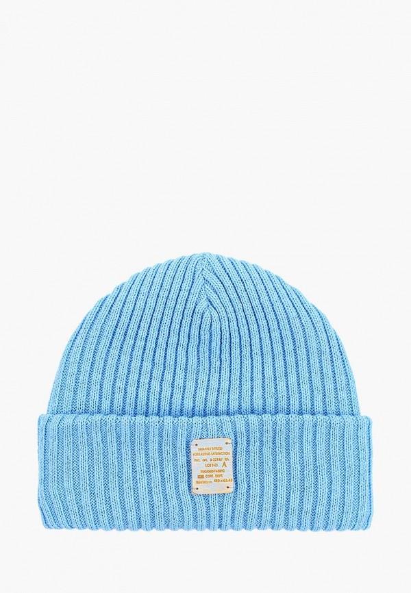 женская шапка maxval, голубая