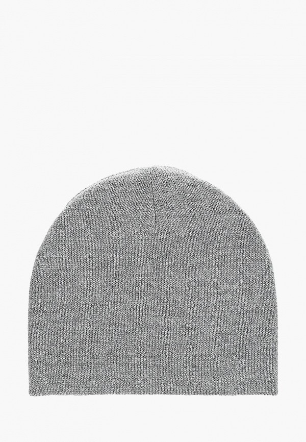 женская шапка maxval, серебряная