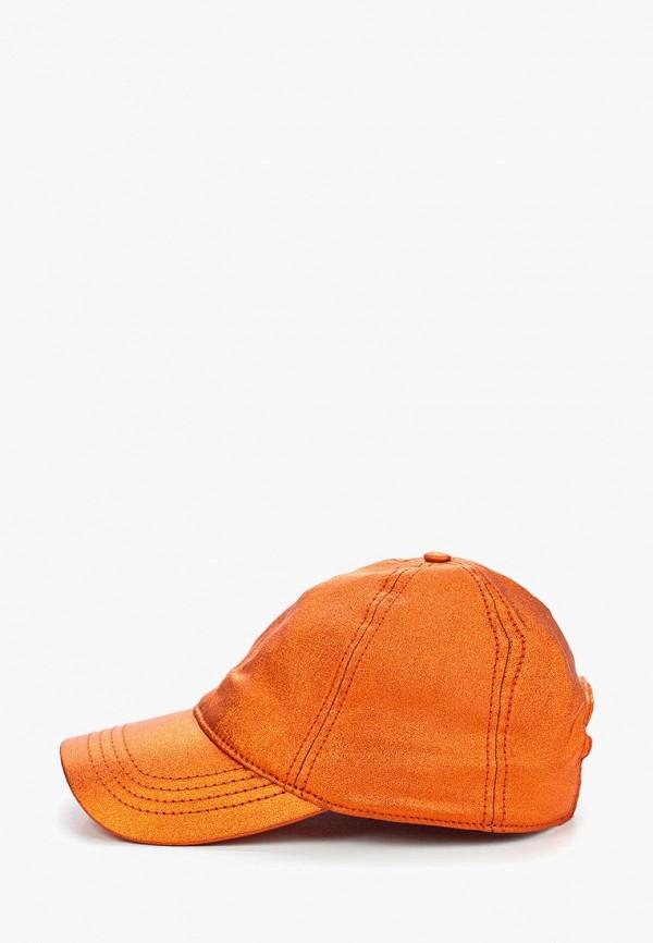 женская бейсболка maxval, оранжевая