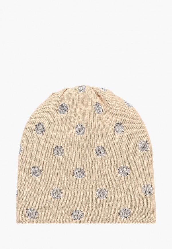 женская шапка maxval, бежевая