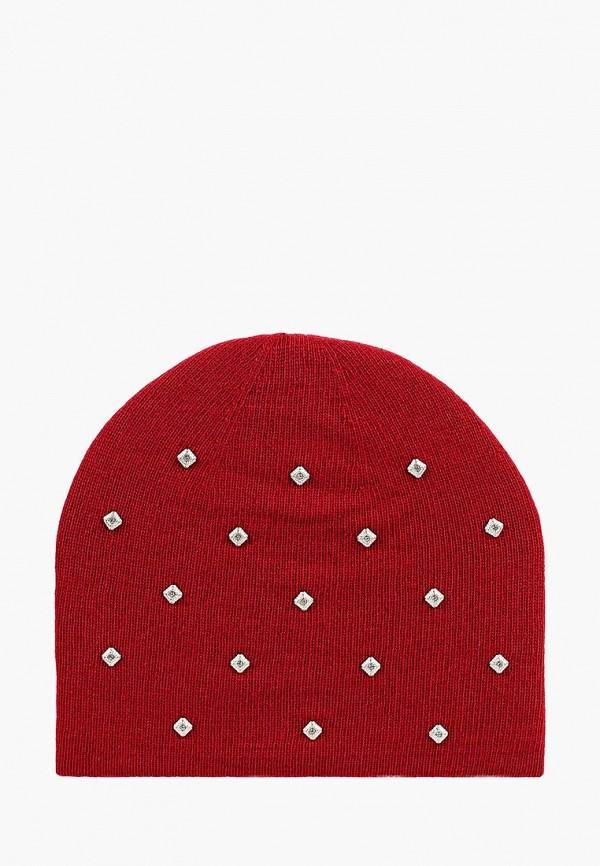 женская шапка maxval, красная