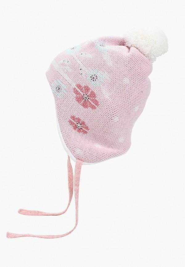 женская шапка maxval, розовая