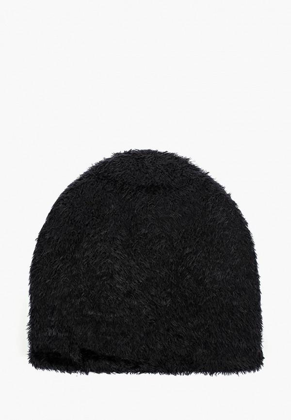 женская шапка maxval, черная